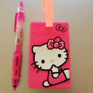 Hello Kitty Luggage Tag rm5 NEW