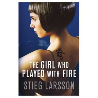 The Girl Who Played with Fire (Millennium #2) by Stieg Larsson (Large Paperback Edition)