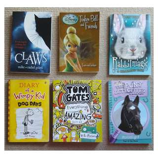 Selling various books