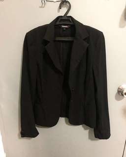Black Corporate Blazer Office Blazer