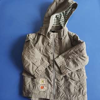 Preloved - Baby khaki jacket (9 to 12 mths)