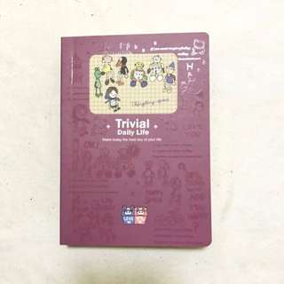 BN Cute Purple Korean Journal Organiser Diary Planner