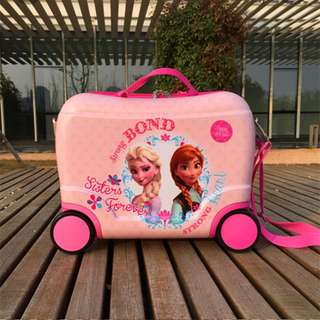 Frozen Kids Seat Trolley