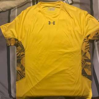 UA Yellow Regular Fit Shirt