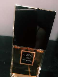 authentic Coco Chanel eau de toilette 100ml