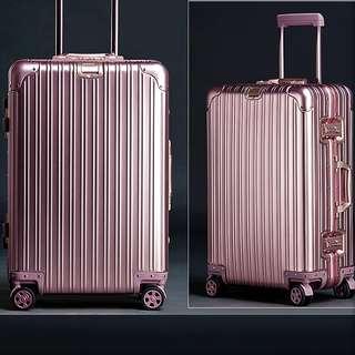 Scratch Resistant Aluminium Alloy Luggage Classic Design, Rimowa inspired design and function