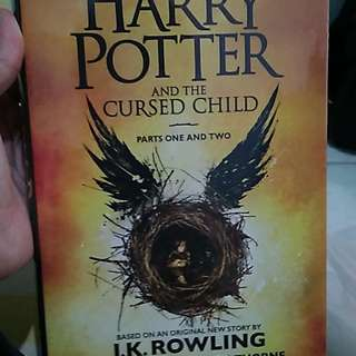 Harry Potter and The Cursed Child (Hard Cover Limited Edition)