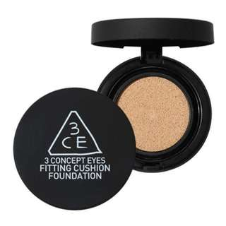3CE Fitting Cushion Foundation in #002