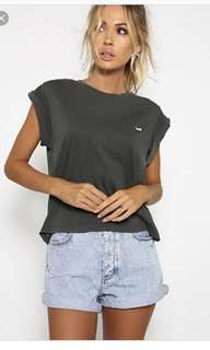 Lee No Brainer Pigment Tshirt Top