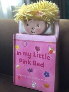 In my little pink bed