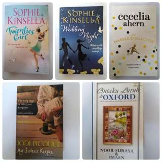 Preloved Novel/Book