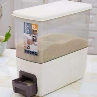 Rice Dispenser 12KG Storage
