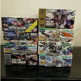 Clearance sales HG Gundam