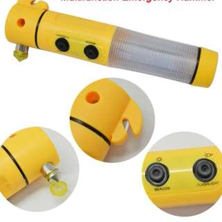 2 Units of 5 in 1 Emergency Car Tool (Yellow)