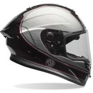 Bell race star helmet full face full carbon fiber