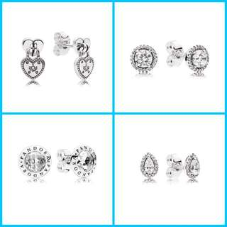 Authentic Pandora Brandnew Earrings For Sale