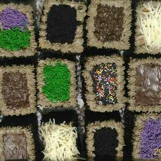 Promo....Mini Mocha Cake 12 Potong