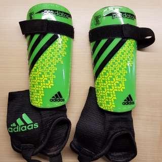 Junior football shin pads from Adidas