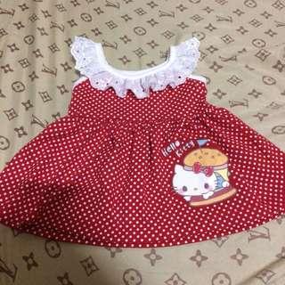 Sanrio Red Polka Dress 0-3