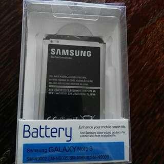 Original Samsung note 3 battery
