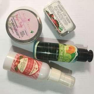 Skin potions set
