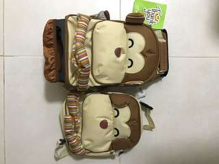 BN baby/toddler bags / school bag with wheel
