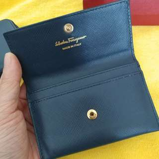 Salvatore Ferragamo Name Card Holder