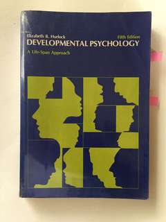 Developmental Psychology 5th ed Elizabeth Hurlock