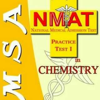 NMAT MSA Chemistry