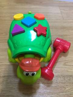 Fisher Price Toy /shapes/tortoise