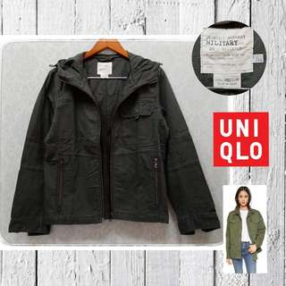 Uniqlo army jacket