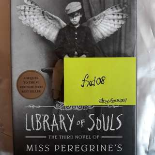 2nd and 3rd Novels of Miss Peregrine's Home for Peculiar Children English Novel