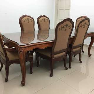 Da Vinci Palais Dining Table