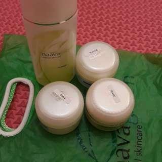 Cream new naava green