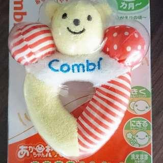 Combi Bear Rattle & Teether