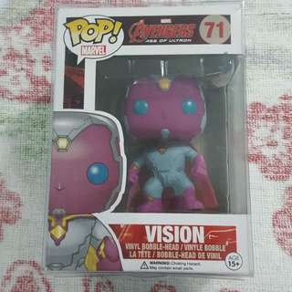Legit Brand New With Box Funko Pop Marvel Avengers Age Of Ultron Vision Toy Figure