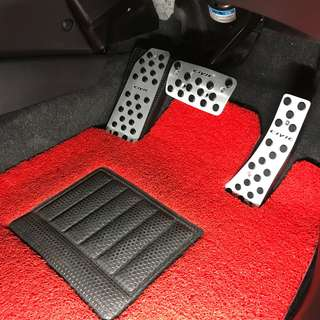 Honda Civic FD Steel Pedal With Rubber Pad