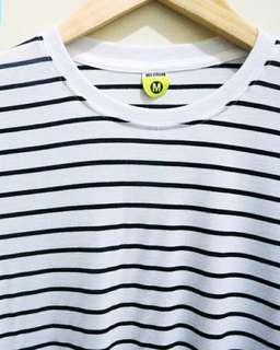 Small Stripes White Black
