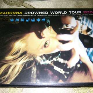 Madonna Drowned World Tour Original  DVD