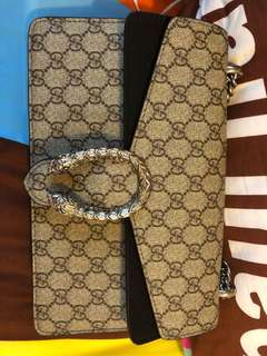 gucci dionysus small black