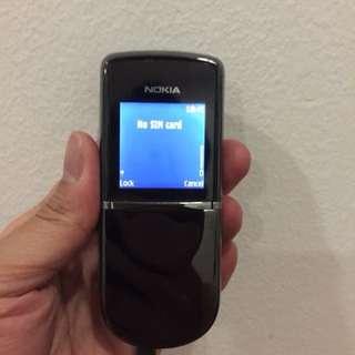 Nokia 8800 Sirocco (black)