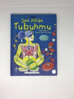 See inside tubuhmu- buku utk belajar organ tubuh utk anak