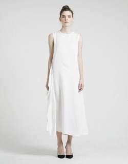 ATS the label moeryan white dress