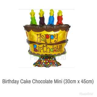 Birthday cake chocolate mini