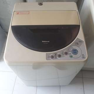National 6.kg fully automatic washing machine. 95%ok Good condition one month warntey 01133530275 call me WhatsApp