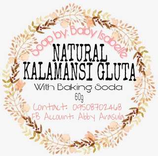 Natural gluta kalamansi w/Baking Soda