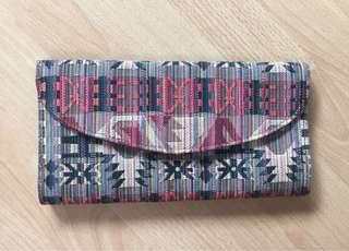 Native clutch bag