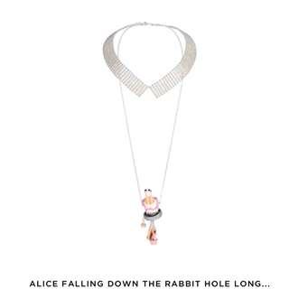 N2 Alice in wonderland 頸鍊,已停產