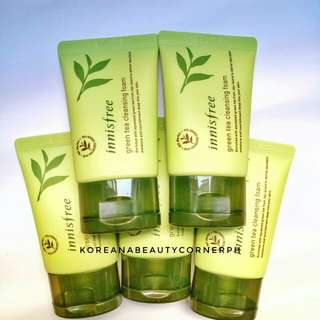 Innisfree Greentea Foam Cleanser