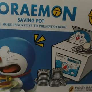 Doraemon savings box